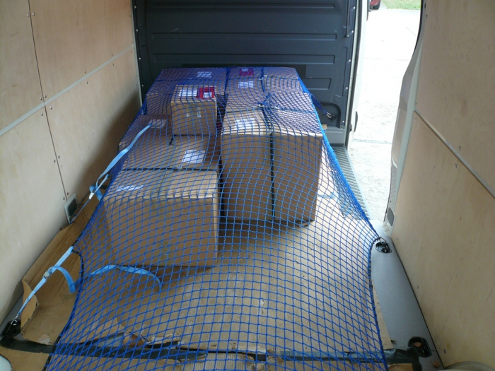 Cargo safety net 30/3 vans transporter delivery service 3.5t