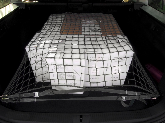 Cargo safety net cars vans transporter luggage space 50/3