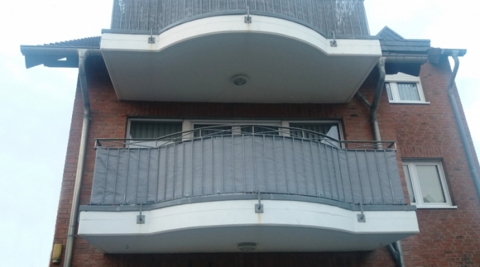 Balcony screen | Privacy screen | Windscreen | Sun protection 230g /m²