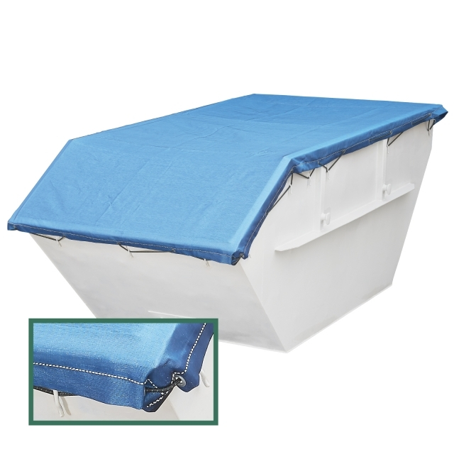 PE flat fabric 190g /m² for containers & skips | stable & cheap