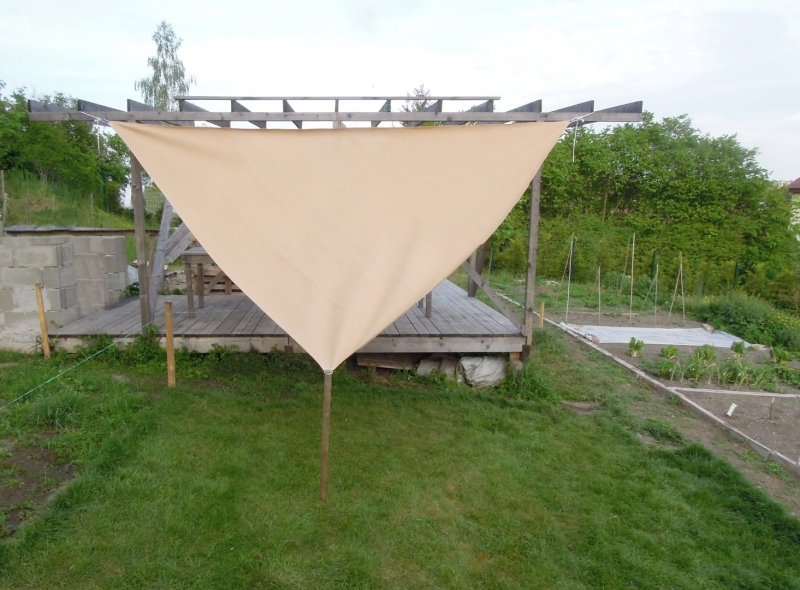 dreieck sonnensegel segel sonnenschutz 230g m se dr thiel gmbh. Black Bedroom Furniture Sets. Home Design Ideas