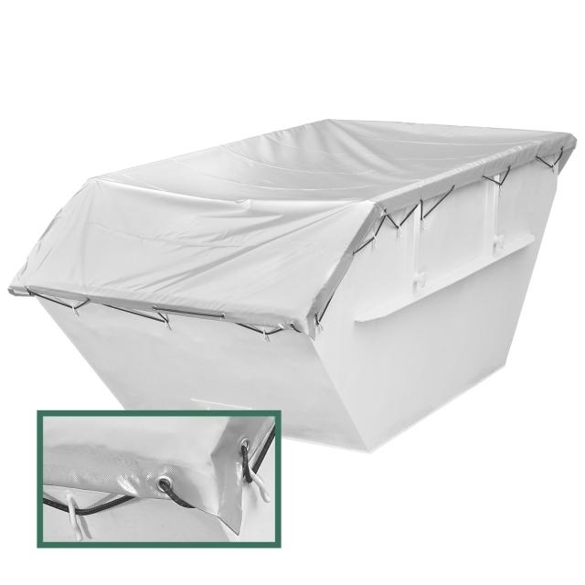 kleincontainerplane pvc wasserdicht berwurfplane dr thiel gmbh. Black Bedroom Furniture Sets. Home Design Ideas