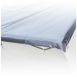 Extrem heavy duty waterproof stable skip tarpaulin PVC 900g /m²