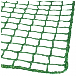 Cover net synthetic fiber net PP knitted 45/3 with surrounding cord