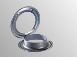 Round eyelet zinc plated Ø 40 mm