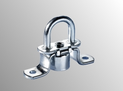 Turnable Staples Tarpaulin Lock 42x22mm
