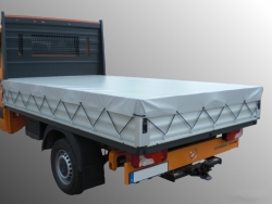 Flatbed tarp heavy duty waterproof stable tarpaulin PVC 630g /m²