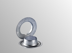 Round eyelet zinc plated Ø 10 mm