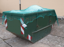 Container net PP 45/3 with surrounding cord